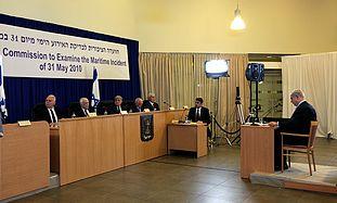 Netanyahu addresses the Turkel Committee