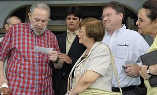 Fidel Castro,US journalist Jeffrey Goldberg