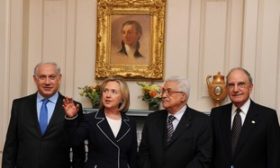 Israelis, Palestinians to work out framework agreement