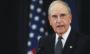 US Middle East envoy George Mitchell