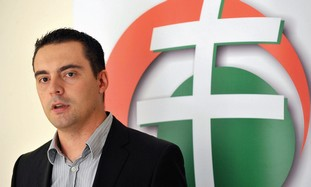 Jobbik party leader Gabor Vona.
