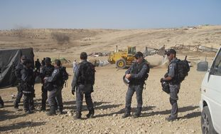 Border Police preparing for Al Arakib demolition