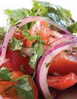 Cheeky tomato salad