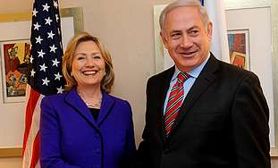 Netanyahu, Clinton meet in New York