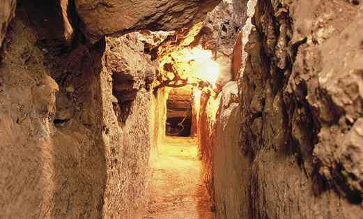 Main artery of Jlem City of David