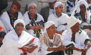 Ethiopian Falash Mura immigrants.