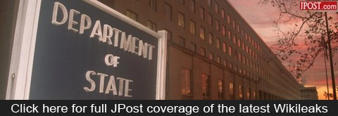 Click here for full Jpost coverage of the latest Wikileaks