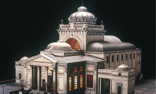 Replica of the Warsaw Synagogue