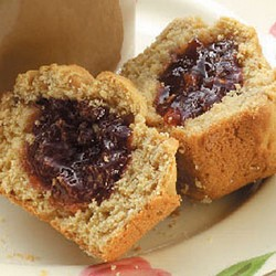 Peanute Butter and Jelly Muffins