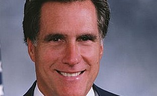 Former Massachusetts governor Mitt Romney.