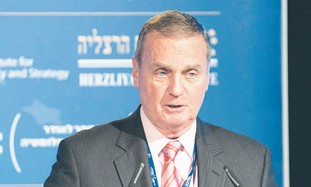 JAMES JONES addresses the Herzliya Conference