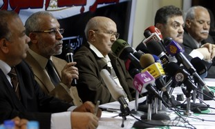 Egyptian Muslim Brotherhood leaders