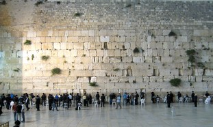The Kotel. Photo: Wayne Stiles