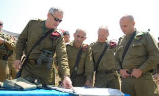 IDF chief of General Staff Lt.-Gen. Benny Gantz