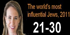 The world's most influential Jews 21-30