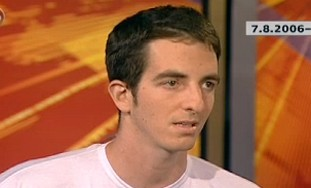 Ilan Grapel in an interview to Channel 10 in 2006