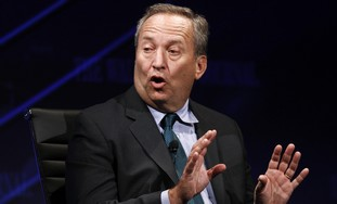 US Treasury secretary Larry Summers