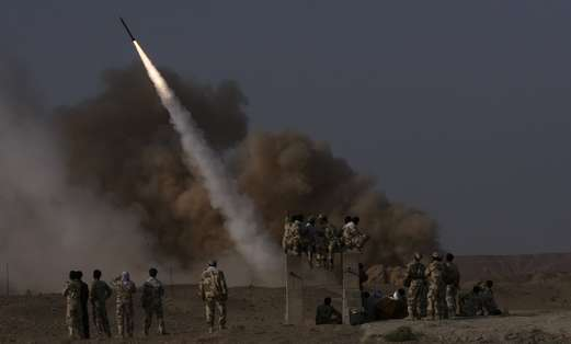 Iranian surface to surface missile