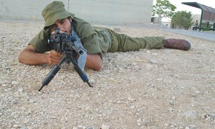 American IDF soldier Becor Dabush