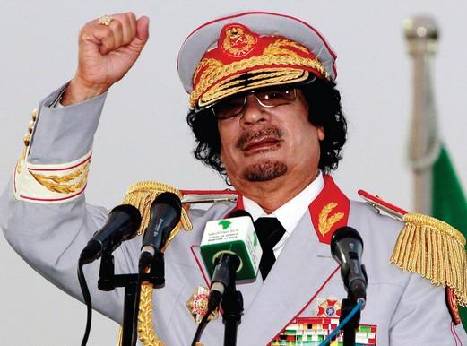 Ronald Reagan labeled Gaddafi the 'mad dog of ME