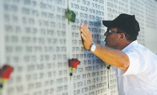 IDF memorial in Latrun