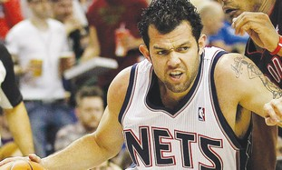 New Jersey Nets player Jordan Farmar.