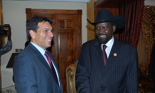 S. Sudan Salva Kiir and Danon