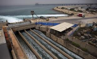 Desalination plant in Hadera