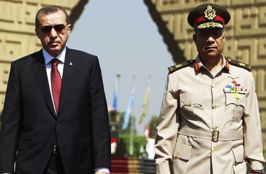 Erdogan visits Egypt