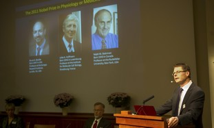Announcment of Nobel medicine laureates