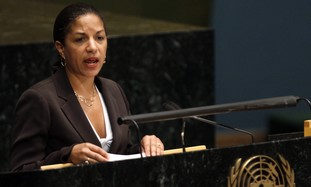 US envoy to the UN Susan Rice [file]