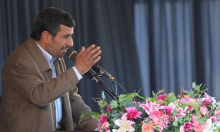 Iran's Ahmadinejad speaks in city of Birjand