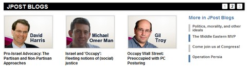 The new JPost.com Blogs section