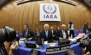 IAEA meeting Director General Yukiya Amano