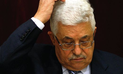 Abbas at UN statehood vote
