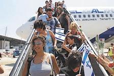 Israel focuses on yordim