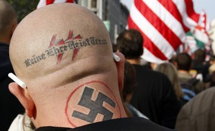 Neo-Nazi activist (illustrative)