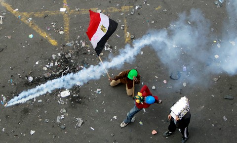 Clashes in Egypt (Reuters)