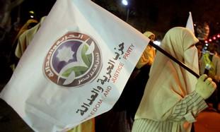 Supporters of Egypt's Muslim Brotherhood.