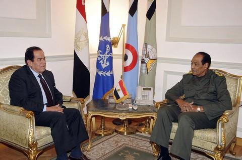 Tantawi and Ganzouri
