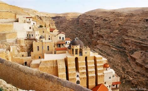 The Mar Saba Monastery (Photo by: Beata M. Andonia)