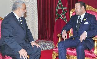 ABDELILAH BENKIRANE meets King Mohammed VI