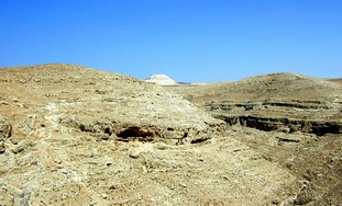 Herodium from Nahal Tekoa (Photo: BiblePlaces.com)