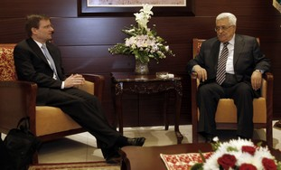 US special envoy David Hale meets Abbas [file]