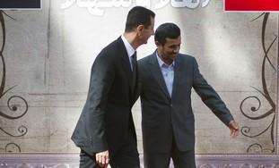 Syria's Assad, Iranian President Ahmadinejad