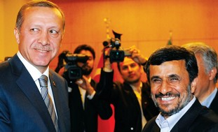 Ahmadinejad and Erdogan