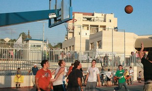 Beit Shemesh basketball game