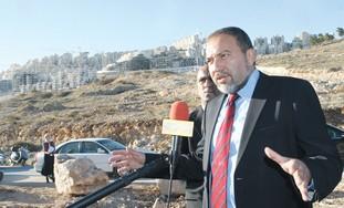Avigdor Lieberman - Photo: Ariel Jerozolimski