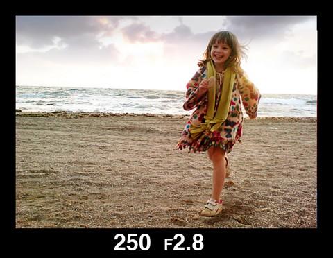 Donna running, [Tom Landford]