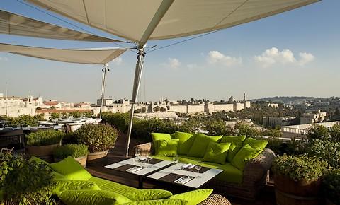 Mamilla rooftop restaurant